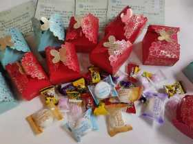 ️学员感恩回馈-送来了一箱结婚喜糖,真心祝福他